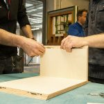 Miter joints with SILVER biscuit