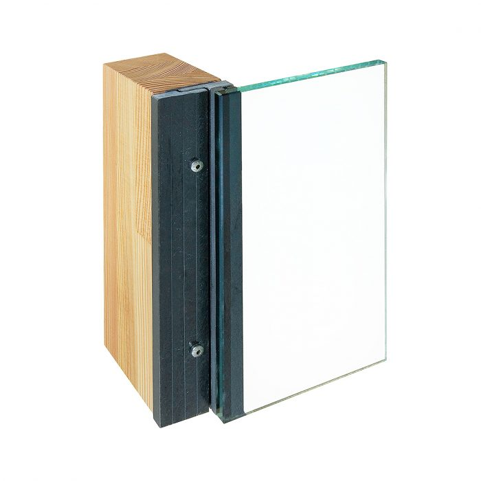 Fasco connector for wood curtain walls