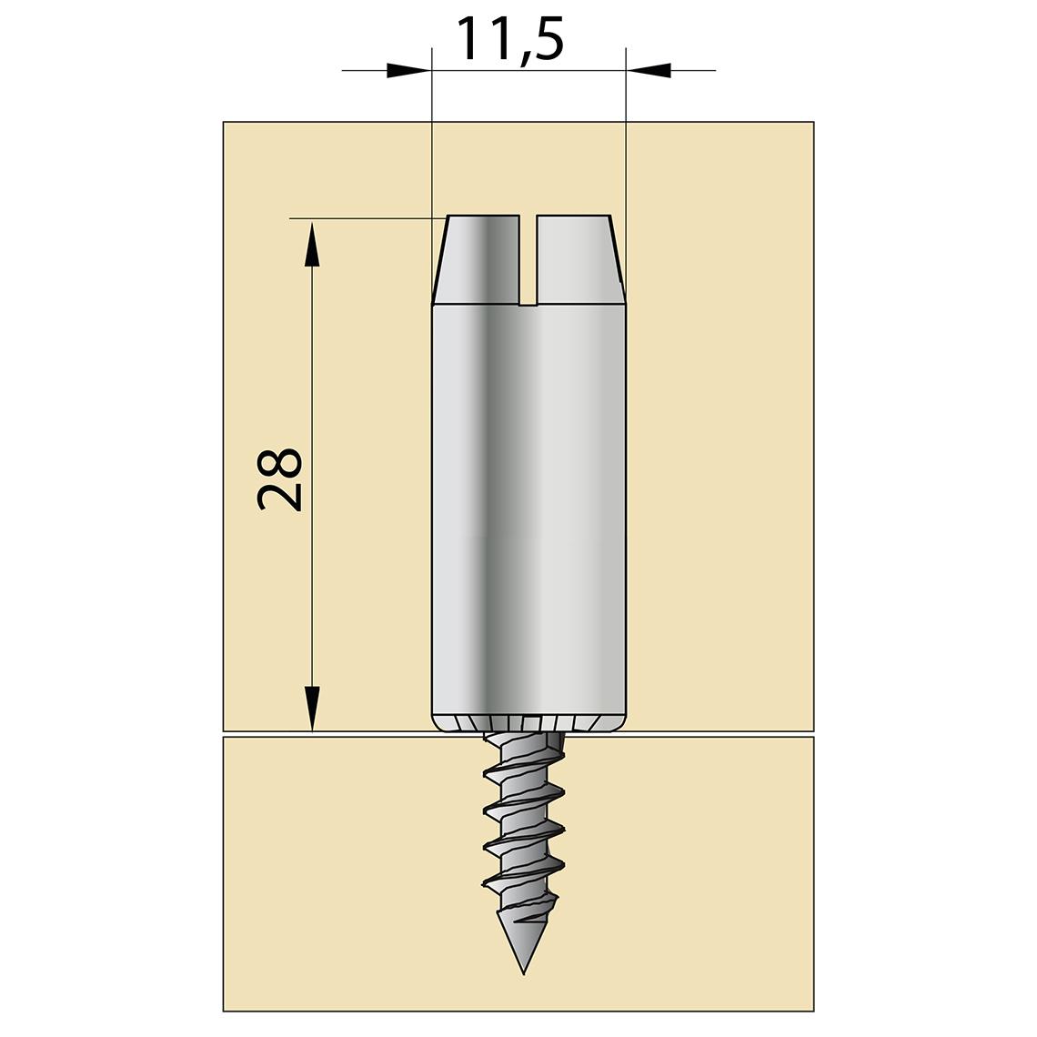 TUCK 10x28 mm
