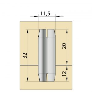 TUCK 10x32 mm