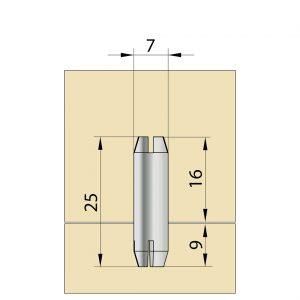 TUCK 6x25 mm