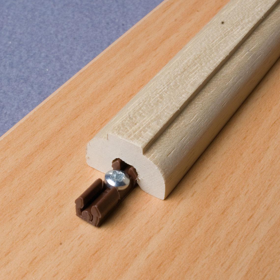 QUICK-SET 2-Part Locking Dowel Cabinet fasteners