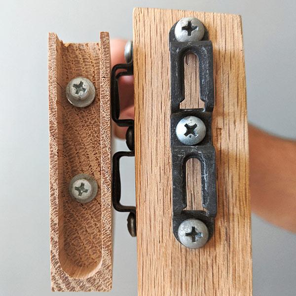 Mod-eez double furniture fasteners