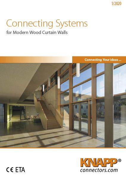Modern Wood Curtain Walls