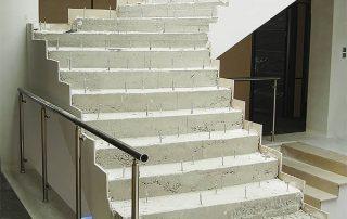 Treppo Stair Hardware installed
