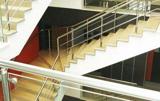Treppo Stair Parts treads installed