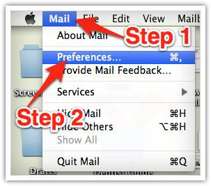 Mac Mail White Listing