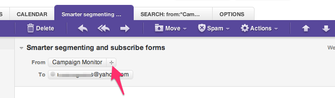 Yahoo Mail White Listing