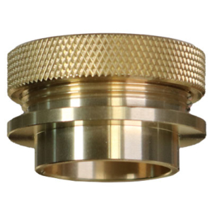 Brass Router Bushing and Lock Nut