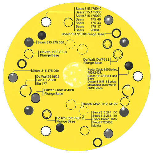 Jasper Precision Base Plate Adapter